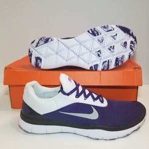 NIKE FREE TRAINER V7 ZERO TCU Size 14 Horned frogs